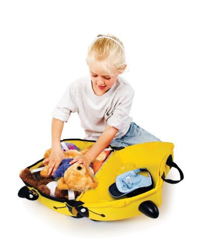 Trunki Ride on Suitcase - Bernard Bee