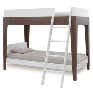 Oeuf Perch Bunk Bed - Walnut