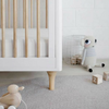 Babyletto Lolly 3 in 1 Convertible Cot - White / Natural