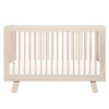 Babyletto Hudson 3 in 1 Convertible Cot - Washed Natural