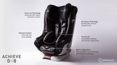 Infa-Secure Premium Attain Car Seat (0-4 Years)