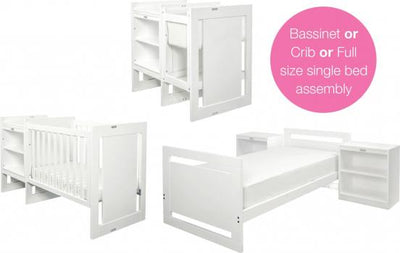 Grotime Overture 8 in 1 Caboodle - White