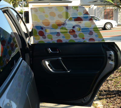 Toddler Tints Car Shade - Zoo Friends