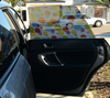 Toddler Tints Car Shade - Just Black