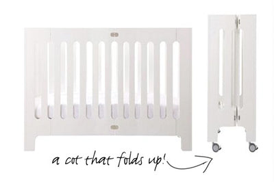Bloom Alma Max Crib - Coconut White