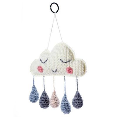 O.B Designs Sweat Dreams Cloud Mobile - Blue