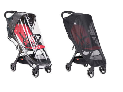 Phil and Teds Go Buggy All Weather Cover Set