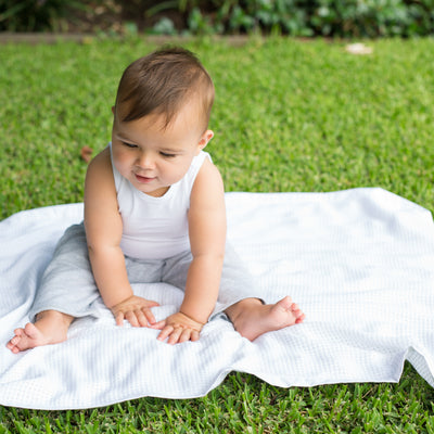 Little Bamboo Cot Heirloom Blanket
