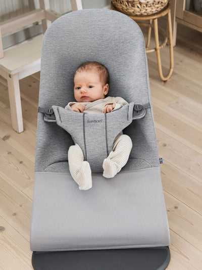 BabyBjorn Bouncer Bliss Soft Jersey Grey