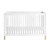 Babyletto Gelato Cot - White / Washed Natural