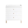 Babyletto Gelato Dresser - White / Washed Natural (Pre-Order December)