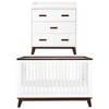 Babyletto Scoot Nursery Package - White / Walnut