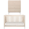 Babyletto Gelato Cot Package - Washed Natural / White