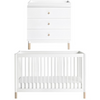 Babyletto Gelato Nursery Package - White / Washed Natural