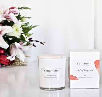 Sentimento Soy Candle - Celebration