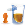 Cherub Baby Food Pouch Starter Pack With Spoon - 10pk