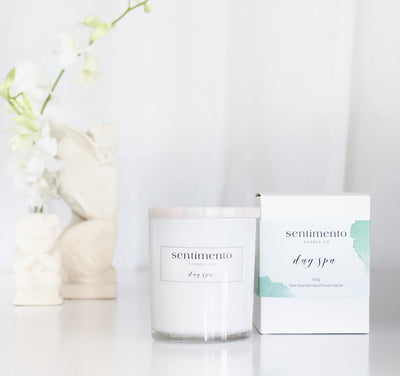 Sentimento Soy Candle - Day Spa