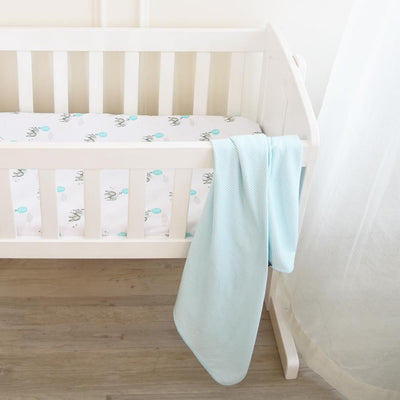 Living Textiles Dream Big Jersey Bassinet Fitted Sheets (2pk)