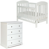 Grotime Blenheim Cot + Spartan Chest Furniture Package