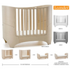 Leander Cot and Comfort Mattress