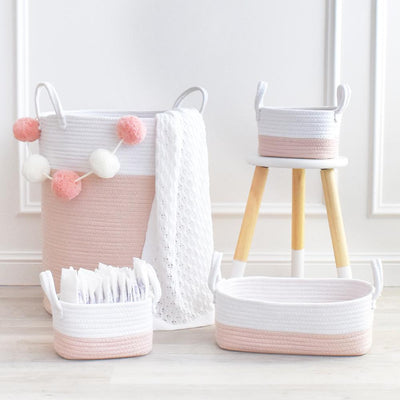 Living Textiles Cotton Rope Hamper