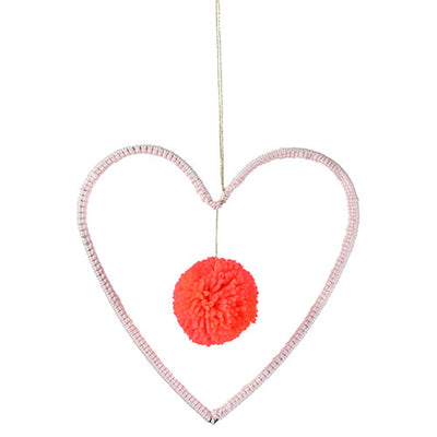 Meri Meri Wool and Wire Mobile - Heart