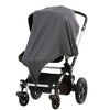 Musluv UV50+ Muslin Baby Sun Cover - Charcoal Dreams