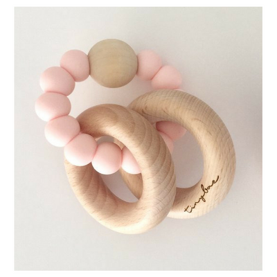 Tinybae Flyyn Teething Rattle