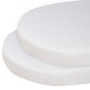 Living Textiles Pure White Jersey Round Cot Fitted Sheet (2pk)