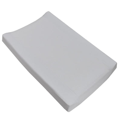 Living Textiles Pure White Jersey Change Pad Cover