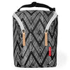 Skip Hop Grab and Go Double Bottle Bag - Zig Zag Zebra