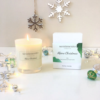 Sentimento Soy Candle - Alpine Christmas