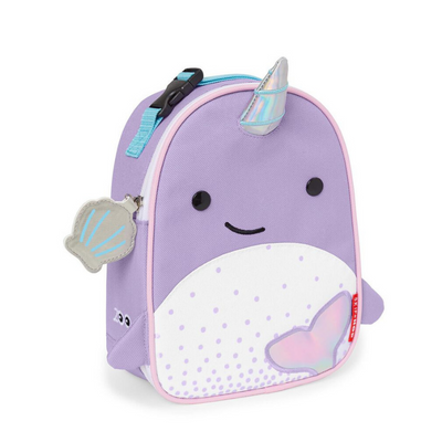 Skip Hop Zoo Lunchie Insulated Lunch Bag - Narwahl
