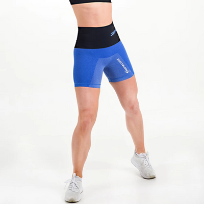 Supacore Post-Natal Compression and Recovery Shorts - Blue (Special Order)
