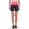 Supacore Post-Natal Compression and Recovery Shorts - Pink Waist/Black (Special Order)