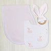 Living Textiles Swan Princess 3pc Gift Set