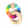 Tinybae Rainbow Teething Ring