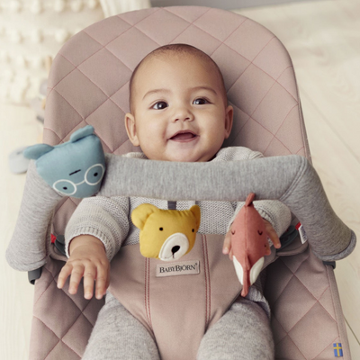 BabyBjorn Bouncer Soft Toy - Soft Friends