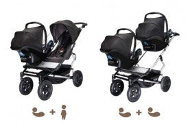 Mountain Buggy Duet Safe-n-Sound Unity Adaptor