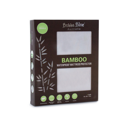 Bubba Blue Bamboo Waterproof Mattress Protector - Cradle