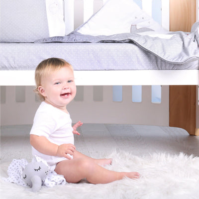Bubba Blue Petit Elephant 3 Piece Cot Sheet Set