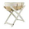 Bebe Care Moses Basket and Stand - White