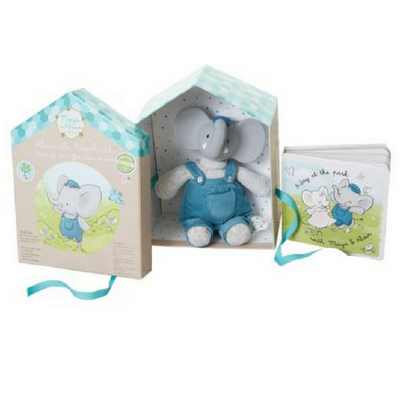 Meiya and Alvin Gift Box with Rubber Alvin the Elephant