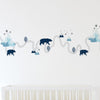 Living Textiles Traveller Wall Decal Set