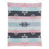 Living Textiles Tribal Cotton Knitted Blanket