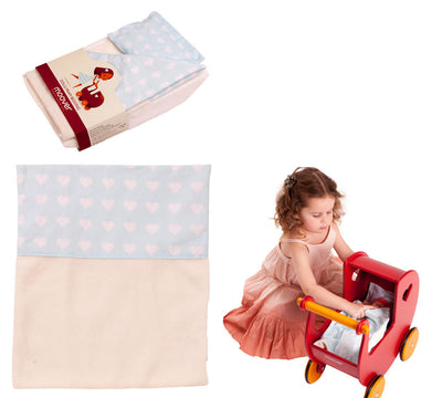 Moover Dolls Pram Bedding