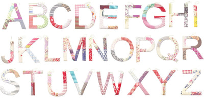Toshi Alphabet Assorted - Girls