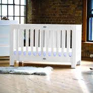 Bloom Alma Papa Crib - Coconut White