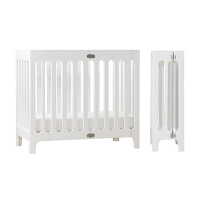 Bloom Alma Mini Crib - Cappuccino