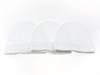 Playette 3pk Fashion Caps - White